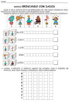ATIVIDADES PARA EDUCADORES: Gráfico BRINCANDO COM DADOS DOS DESENHOS