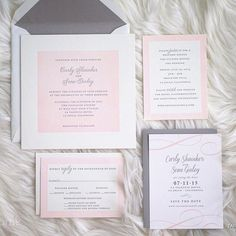 Carly and Sean's pink and gray letterpress wedding invitations are effortlessly beautiful. The simple details make this one very special invitation set. Photo by @table4weddings. Wedding at @lavalenciahotel. #pinkandgray #letterpress #timeless #elegant #classic #twocolorletterpress #envelopeliner #weddinginvitation #weddinginvitations #savethedate #savethedates #rehearsaldinner #lavalencia #lavalenciahotel #lavalenciawedding #table4weddings #lajollawedding #lajollaweddings #sandiegowedding…