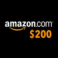 $200 Amazon Gift Card Giveaway - Giveaway Promote Open to: United States, Canada, Other Location  Ending on: 04/25/2014