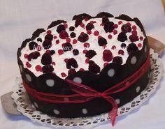 diana's cakes love: Tort cu fructe de padure- crema de iaurt Good Spirits, Good Food, Cake, Desserts, Pastel, Deserts, Kuchen, Cakes, Dessert
