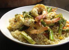 Lemony Shrimp and Quinoa, a recipe on Food52