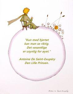 Antoine De Saint Exupery Den lille prinsen