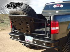 Ford F-150 with a Chase Rack. Would you like this option on your Truck?