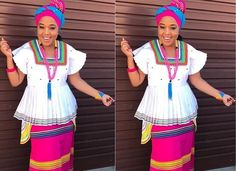 African fashion is available in a wide range of style and design. Whether it is men African fashion or women African fashion, you will notice. Pedi Traditional Attire, Sepedi Traditional Dresses, African Traditional Wedding Dress, African Fashion Traditional, African Fashion Designers, Latest African Fashion Dresses, African Print Dresses, African Print Fashion, African Dress