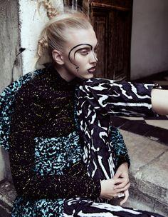 Juliana Schurig by Benjamin Vnuk for Dansk Magazine Fall Winter 2014 4