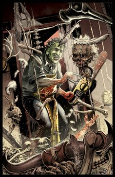 LEATHERFACE: THE TEXAS CHAINSAW MASSACRE by Zornow