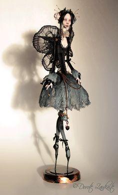 Night Butterfly by Tireless Artist, via Flickr