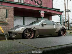 #Nissan_350z #WideBody_Flares #Modified #Slammed #Stance