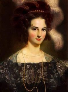 Portrait of Princess Maria Teresa of Savoy (1803-1879)