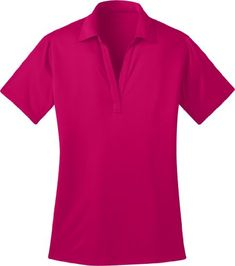 190ccccf Port Authority Ladies Silk Touch Performance Polo Shirt L540 2XL Pink  Raspberry at Amazon Women's Clothing store: