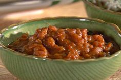 Get Bourbon Baked Beans Recipe from Food Network