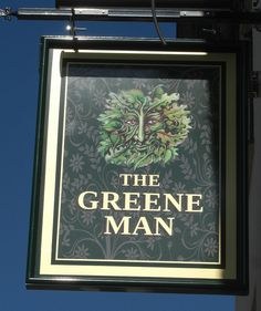 Newton Abbot Pub Sign The Greene Man | Flickr - Photo Sharing!