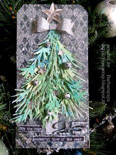 yaya scrap & more: 12 TAGS OF 2015: DECEMBER! Dec 2015 #timholtz #ranger #timholtzideaology #timholtzsizzix #timholtzstampersanonymous #christmas