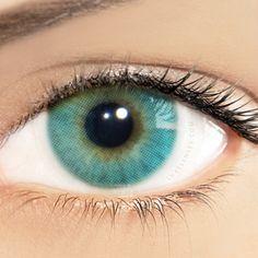 Solotica Hidrocor Marine Turquoise Blue Contact Lenses