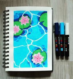 I start a sketchbook and here is my first drawing at posca 🤗 Posca Marker, Marker Art, Art Inspiration Drawing, Art Journal Inspiration, Arte Do Kawaii, Posca Art, Small Canvas Art, Arte Sketchbook, Guache