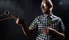 The Houndstooth Glitch Button Down Shirt and Dress by Doctor Popular and Betabrand