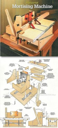 DIY Mortising Machine - Joinery Tips, Jigs and Techniques   WoodArchivist.com
