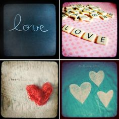 photo cards Valentine gift set Love Collection by sweetblue on Etsy