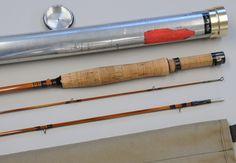 Carlson 'Bill Rosgen' 7½ ft. 2 pc.2 tips 2013,5,3-Bamboo Fly Rod