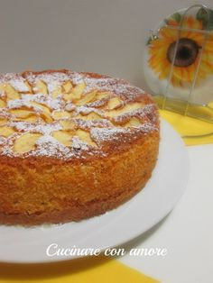 Torta di mele soffice soffice Low Carb Desserts, No Bake Desserts, Apple Deserts, Brioche Recipe, Italian Cake, Torte Cake, Vegan Kitchen, Low Carb Bread, Low Carb Breakfast