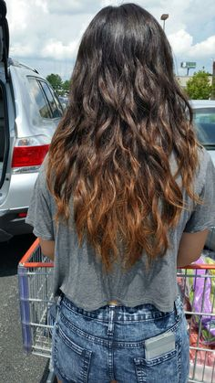 Ombre curls  My hair