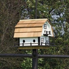 Amish Small #Barn #Martin #Birdhouse