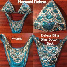 MERMAID DELUXE Figure Competition Suit – Ravish Sands