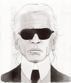 KARL LAGERFELD Talks MELANIA TRUMP, CHOUPETTE and PIERRE BERGE for WSJ
