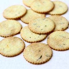 Sweet and savory rosemary cookies from The Year in Food.
