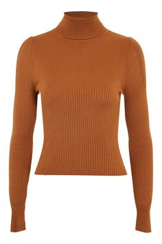 922cce2acfa Puff Sleeve Roll Jumper Winter Wardrobe Essentials