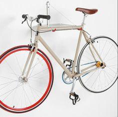 10 Bike Hangers For Stylish Off-The-Floor Storage - 10 ganchos para colgar bicicletas con diseño o estilo