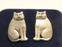 BEST Vintage FAT CAT Earrings by Laurel Burch...still my favorite earrings