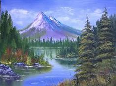 Scenic oil painting by Abrushofnature on Etsy