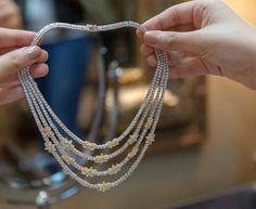 Necklaces – Page 7 – Modern Jewelry Diamond Solitaire Necklace, Diamond Pendant, Diamond Jewelry, Gold Jewelry, Dimond Necklace, India Jewelry, Vintage Jewellery, Hijab Style, Jewelry Sets