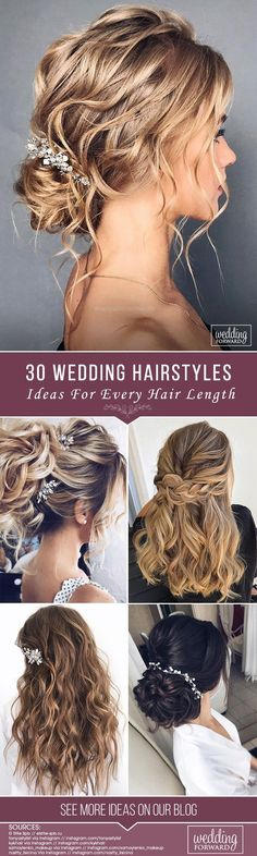 79 Beautiful Bridal Updos Wedding Hairstyles for a Romantic Bridal - Wedding Hair Styles Wedding Hair Half, Diy Wedding Hair, Bridal Hair Vine, Wedding Hair And Makeup, Headpiece Wedding, Wedding Vows, Wedding Ideas, Natural Wedding Hairstyles, Bride Hairstyles