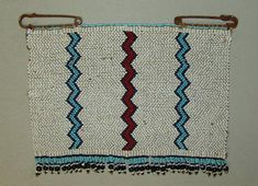 """Xhosa Beaded Panel Blanket Pin or Cloak Pin """"Ithumbu"""" - Xhosa Beadwork. This beaded pin, sometimes referred to as a """"love letter"""", is so large that it may be considered a beaded panel. It it of the style popular around Cofimvaba and likely dates to the African Culture, African Art, Africa Craft, Xhosa, African Accessories, African Traditional Dresses, Cultural Identity, Loom Weaving, Cloak"""