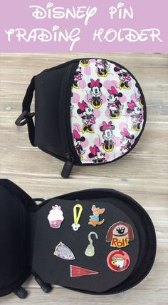 Upcycle - Make a Disney Pin Trading Holder from old CD/DVD holder - Instructions included
