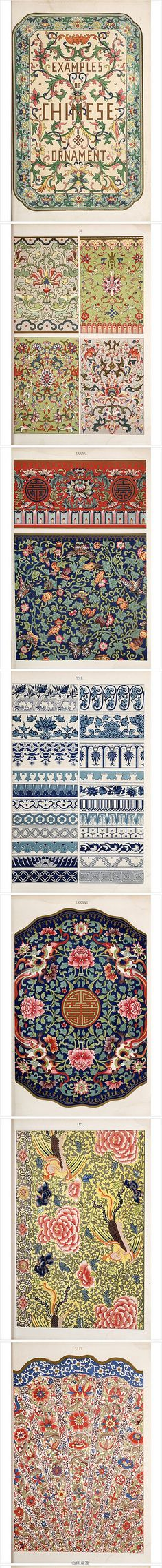 Examples of Chinese ornamentation