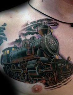 acdc train tattoo tattoos train tattoo tattoo designs. Black Bedroom Furniture Sets. Home Design Ideas