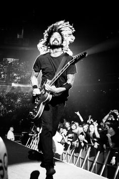 Sweetest man in rock & roll.  Dave Grohl.