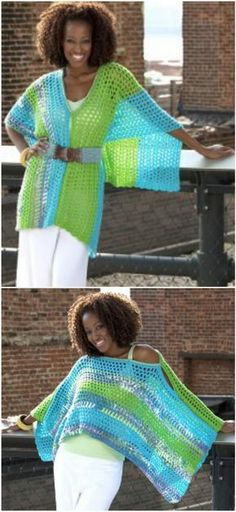 50 Free Crochet Poncho Patterns for All - Page 9 of 9 - DIY & Crafts