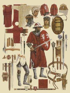 chevalier XIIIeme siecle