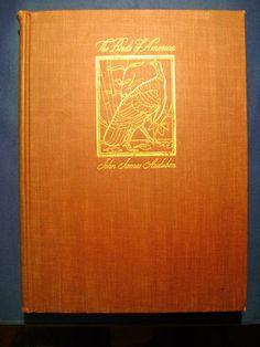 THE BIRDS OF AMERICA by John James Audubon 1937 reprinted 1944