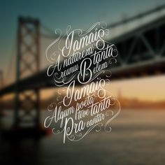 "Typography - ""Rancho de Amor a Ilha"" Florianopolis SC on Behance"
