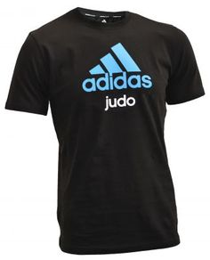 Adidas Judo T-shirt black/blue