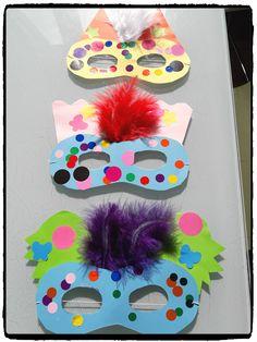 masque carnaval, mardi gras, enfants