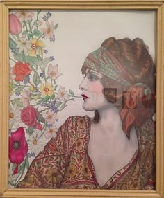 Illuminating the Stars: Evelyn Brent by Alicia Justus. SOLD. #goldenera #oldhollywood #evelynbrent