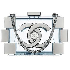 Chanel's Spring 2014 bags are feminine and arty (except for the backpacks, which are just arty).