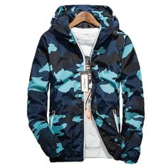 a1dc9fe03e67 Spring Men Brand Camouflage Jackets