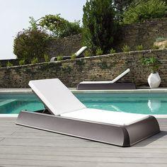 Chaise longue jardin Gaia  #bain de #soleil #transat #fauteuil #outdoor #garden #folding #chair #sunbath #jardin #détente #mobilier de #jardin #extérieur #piscine #chaise #longue
